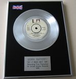 GERRY RAFFERTY - GET IT RIGHT NEXT TIME PLATINUM Single Presentation Disc